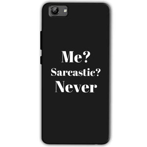 Vivo Y71 Mobile Covers Cases Me sarcastic Never - Lowest Price - Paybydaddy.com