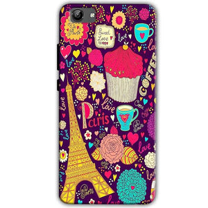 Vivo Y71 Mobile Covers Cases Paris Sweet love - Lowest Price - Paybydaddy.com