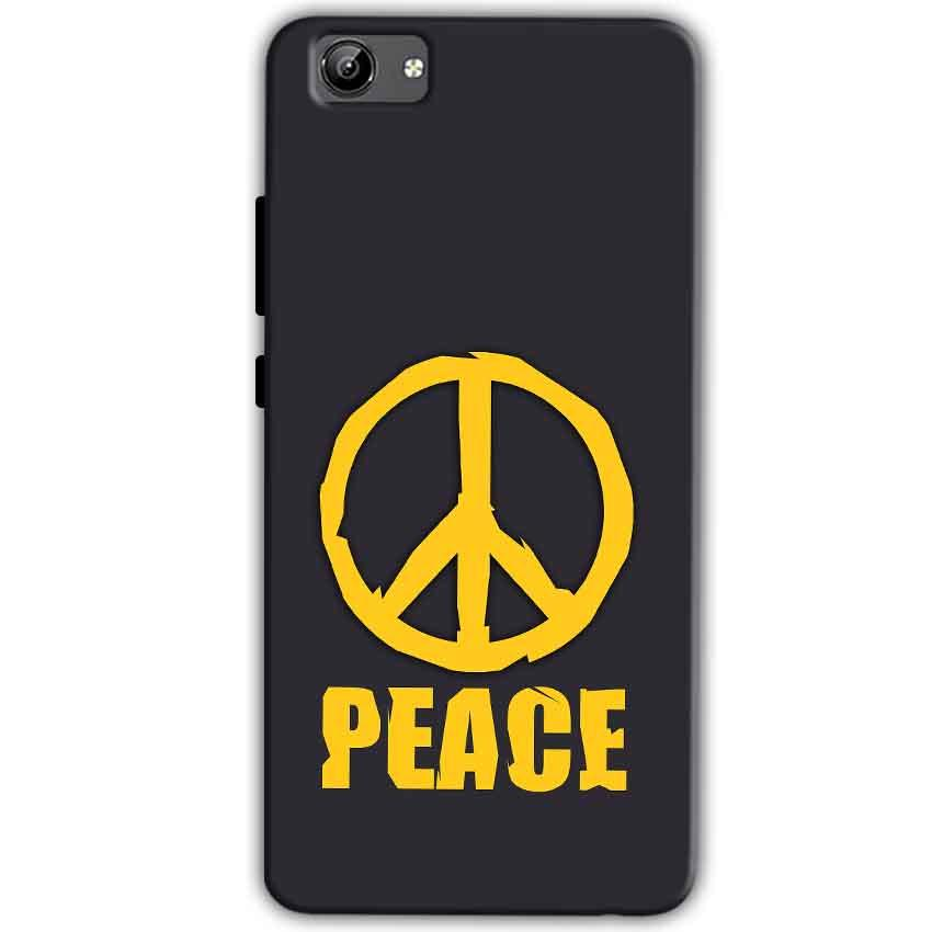Vivo Y71 Mobile Covers Cases Peace Blue Yellow - Lowest Price - Paybydaddy.com