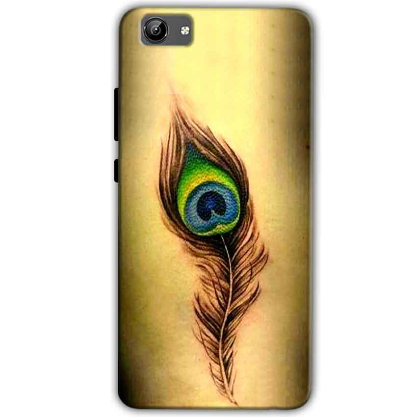Vivo Y71 Mobile Covers Cases Peacock coloured art - Lowest Price - Paybydaddy.com