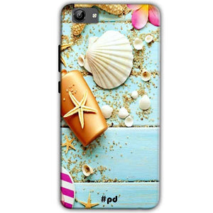 Vivo Y71 Mobile Covers Cases Pearl Star Fish - Lowest Price - Paybydaddy.com