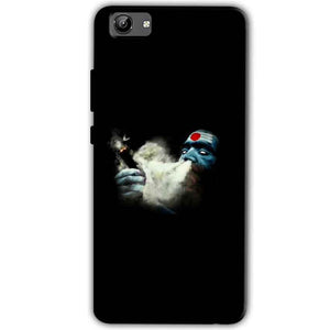 Vivo Y71 Mobile Covers Cases Shiva Aghori Smoking - Lowest Price - Paybydaddy.com