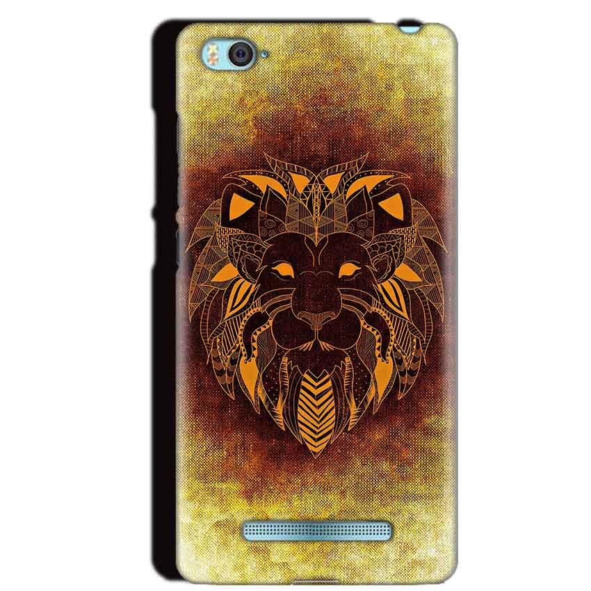 Xiaomi Mi4i Mobile Covers Cases Lion face art - Lowest Price - Paybydaddy.com