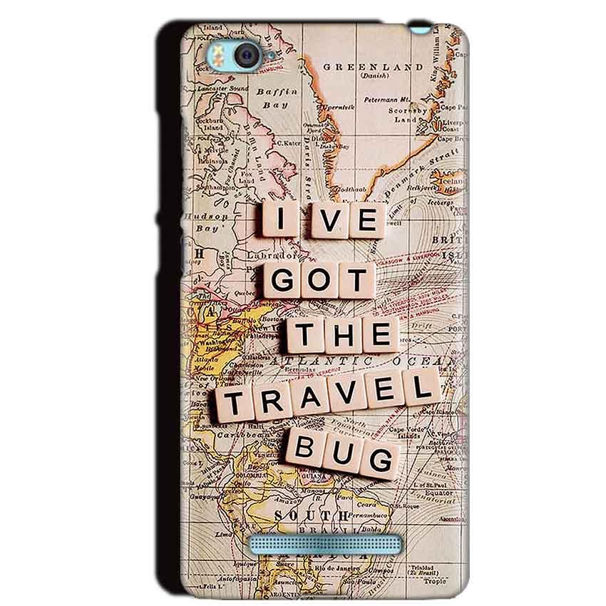 Xiaomi Mi4i Mobile Covers Cases Live Travel Bug - Lowest Price - Paybydaddy.com