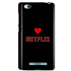 Xiaomi Mi4i Mobile Covers Cases NETFLIX WITH HEART - Lowest Price - Paybydaddy.com