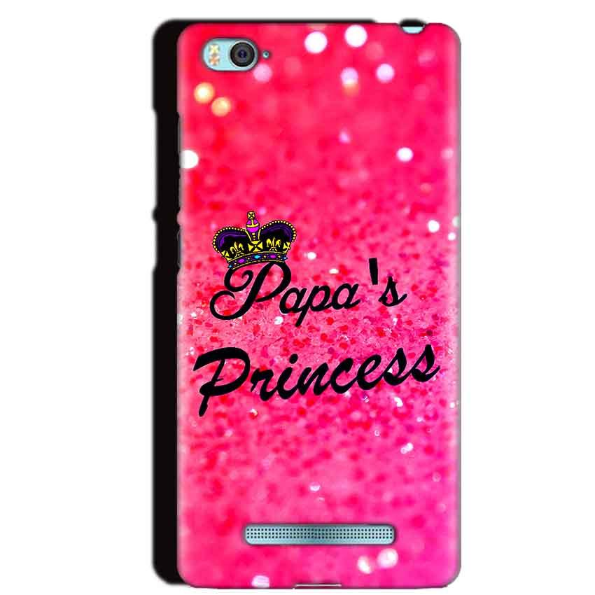 Xiaomi Mi4i Mobile Covers Cases PAPA PRINCESS - Lowest Price - Paybydaddy.com