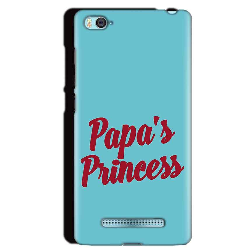 Xiaomi Mi4i Mobile Covers Cases Papas Princess - Lowest Price - Paybydaddy.com