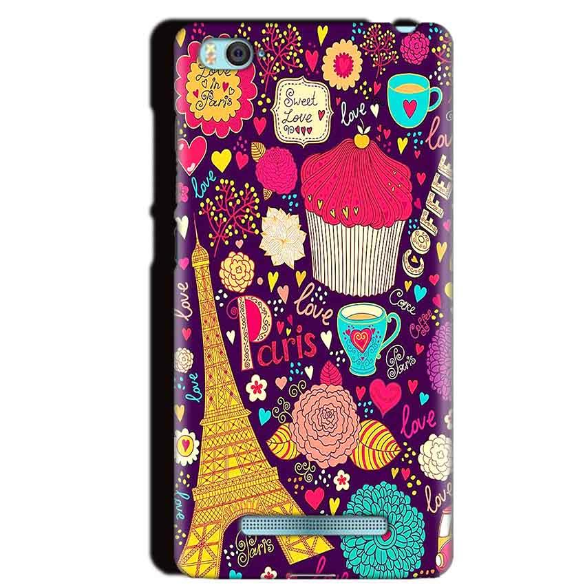Xiaomi Mi4i Mobile Covers Cases Paris Sweet love - Lowest Price - Paybydaddy.com
