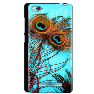 Xiaomi Mi4i Mobile Covers Cases Peacock blue wings - Lowest Price - Paybydaddy.com
