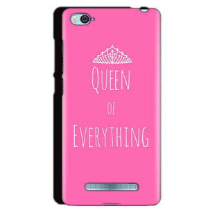 Xiaomi Mi4i Mobile Covers Cases Queen Of Everything Pink White - Lowest Price - Paybydaddy.com