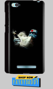 Xiaomi Mi4i Mobile Covers Cases Shiva Aghori Smoking - Lowest Price - Paybydaddy.com