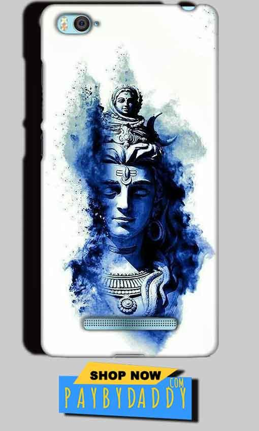 Xiaomi Mi4i Mobile Covers Cases Shiva Blue White - Lowest Price - Paybydaddy.com