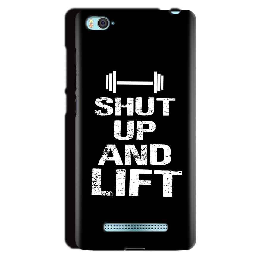 Xiaomi Mi4i Mobile Covers Cases Shut Up And Lift - Lowest Price - Paybydaddy.com