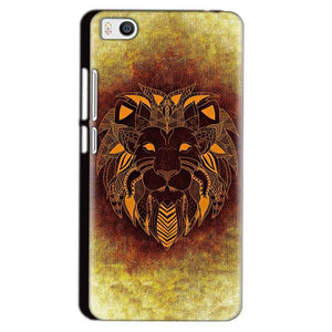 Xiaomi Mi5 Mobile Covers Cases Lion face art - Lowest Price - Paybydaddy.com