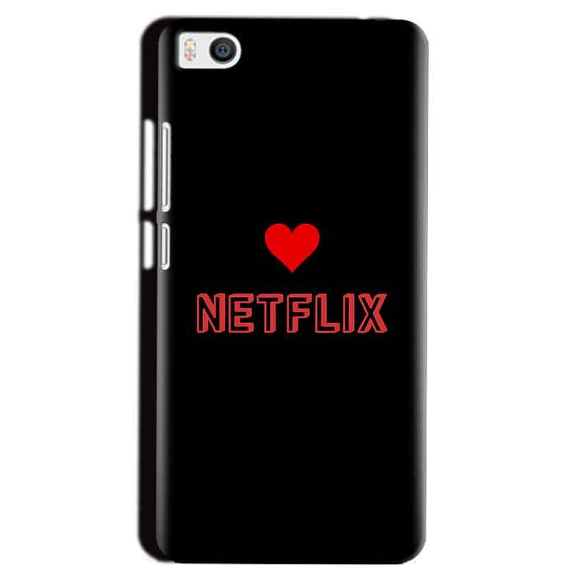 Xiaomi Mi5 Mobile Covers Cases NETFLIX WITH HEART - Lowest Price - Paybydaddy.com