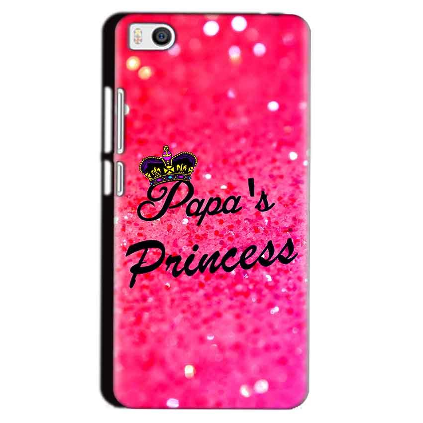 Xiaomi Mi5 Mobile Covers Cases PAPA PRINCESS - Lowest Price - Paybydaddy.com