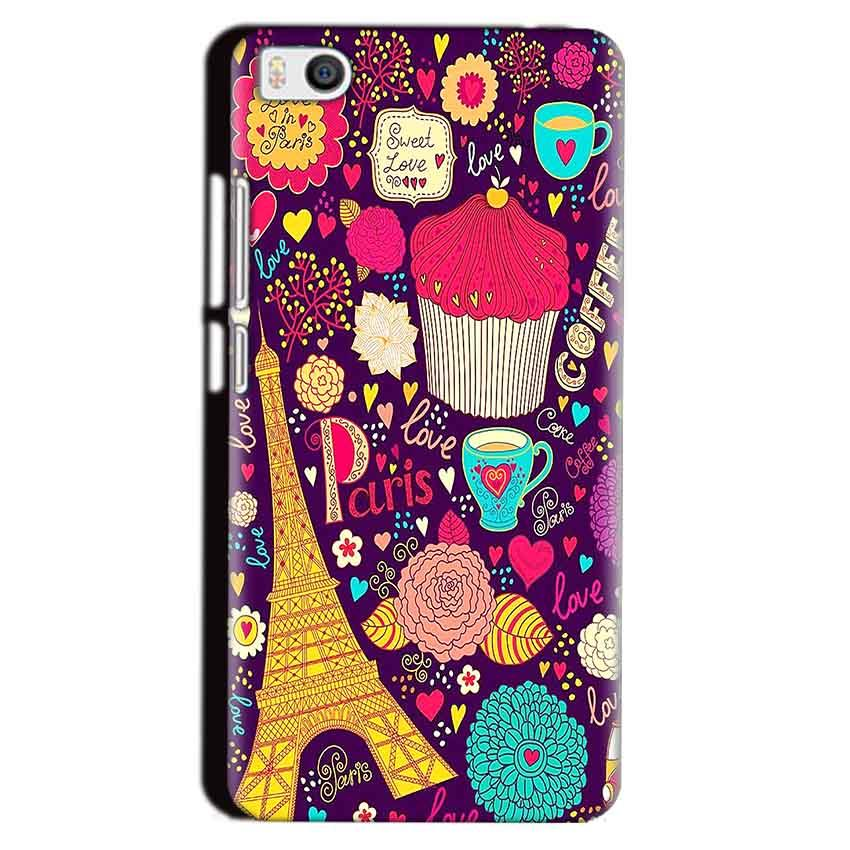 Xiaomi Mi5 Mobile Covers Cases Paris Sweet love - Lowest Price - Paybydaddy.com