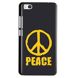 Xiaomi Mi5 Mobile Covers Cases Peace Blue Yellow - Lowest Price - Paybydaddy.com