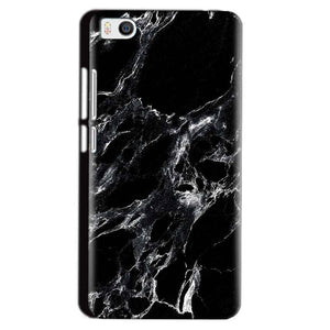 Xiaomi Mi5 Mobile Covers Cases Pure Black Marble Texture - Lowest Price - Paybydaddy.com