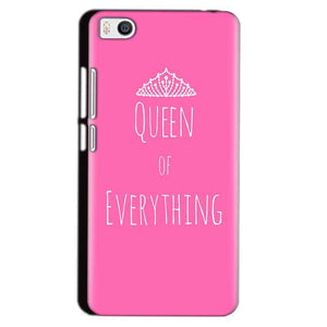 Xiaomi Mi5 Mobile Covers Cases Queen Of Everything Pink White - Lowest Price - Paybydaddy.com