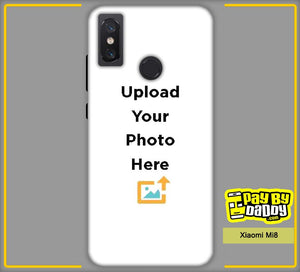 Customized Xiaomi Mi8 Mobile Phone Covers & Back Covers with your Text & Photo