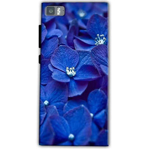 Xiaomi Mi 3 Mobile Covers Cases Blue flower - Lowest Price - Paybydaddy.com