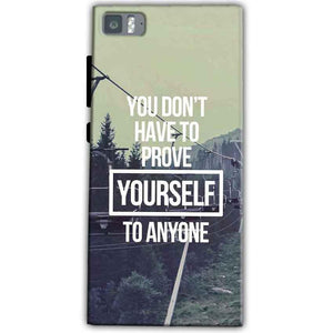 Xiaomi Mi 3 Mobile Covers Cases Donot Prove yourself - Lowest Price - Paybydaddy.com