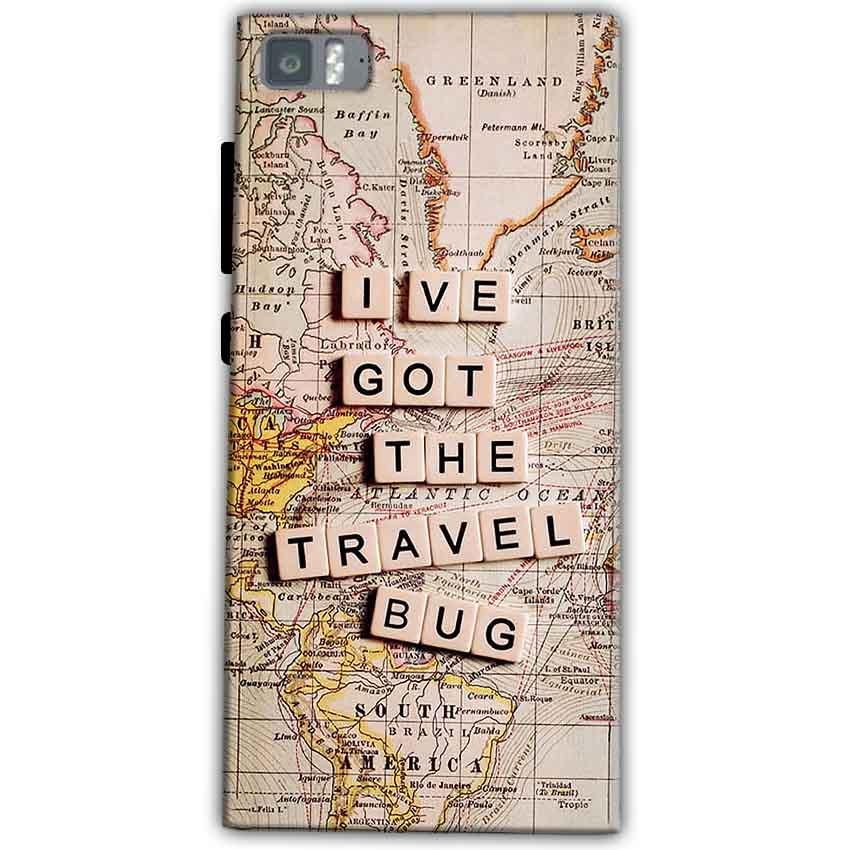 Xiaomi Mi 3 Mobile Covers Cases Live Travel Bug - Lowest Price - Paybydaddy.com