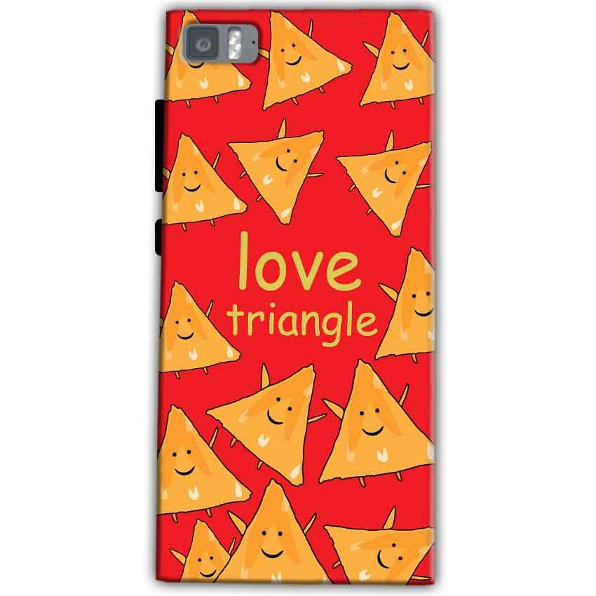 Xiaomi Mi 3 Mobile Covers Cases Love Triangle - Lowest Price - Paybydaddy.com