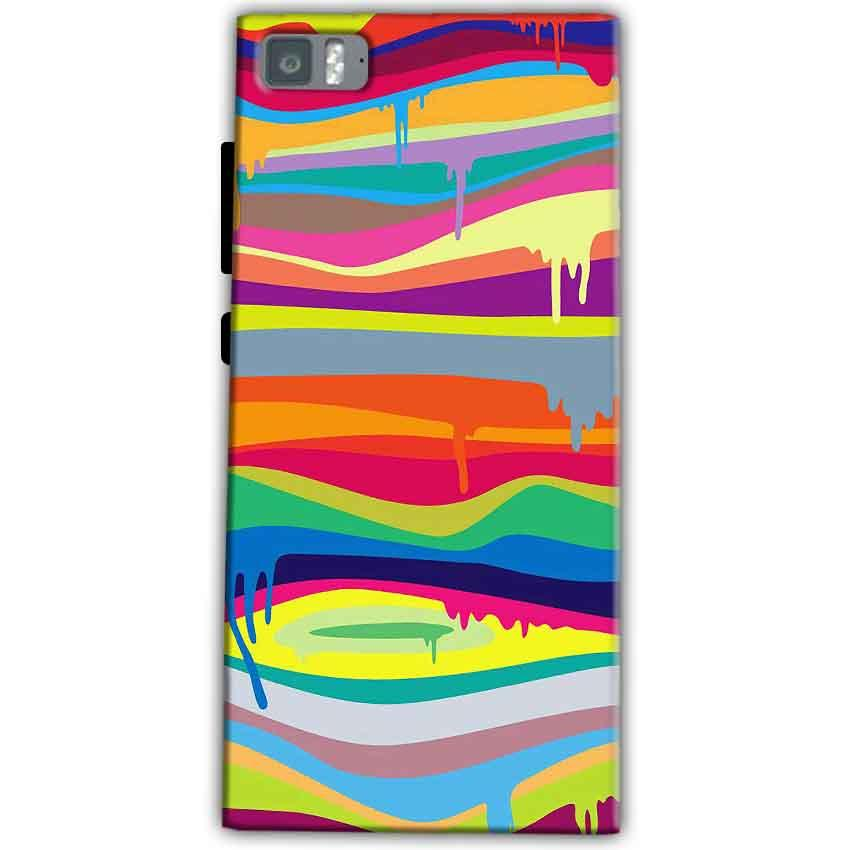Xiaomi Mi 3 Mobile Covers Cases Melted colours - Lowest Price - Paybydaddy.com
