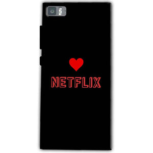 Xiaomi Mi 3 Mobile Covers Cases NETFLIX WITH HEART - Lowest Price - Paybydaddy.com