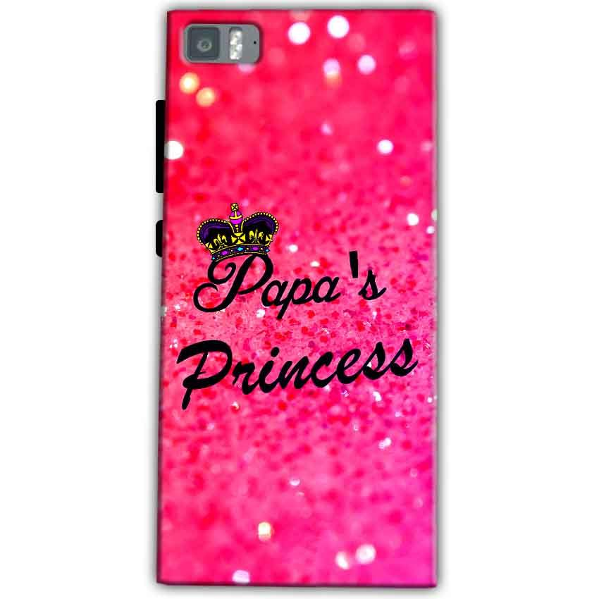 Xiaomi Mi 3 Mobile Covers Cases PAPA PRINCESS - Lowest Price - Paybydaddy.com