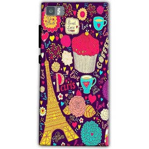 Xiaomi Mi 3 Mobile Covers Cases Paris Sweet love - Lowest Price - Paybydaddy.com