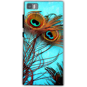 Xiaomi Mi 3 Mobile Covers Cases Peacock blue wings - Lowest Price - Paybydaddy.com