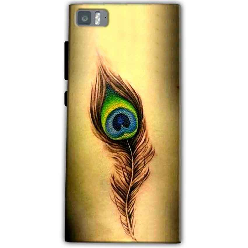 Xiaomi Mi 3 Mobile Covers Cases Peacock coloured art - Lowest Price - Paybydaddy.com