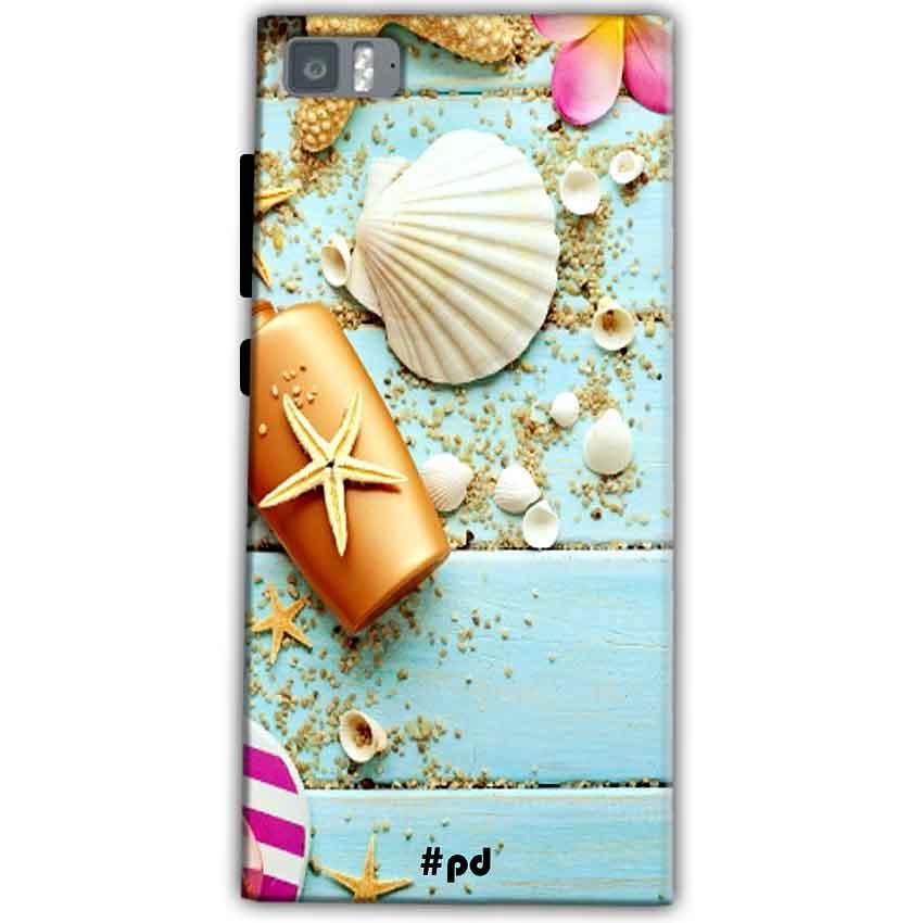 Xiaomi Mi 3 Mobile Covers Cases Pearl Star Fish - Lowest Price - Paybydaddy.com