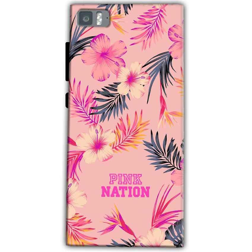 Xiaomi Mi 3 Mobile Covers Cases Pink nation - Lowest Price - Paybydaddy.com