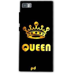 Xiaomi Mi 3 Mobile Covers Cases Queen With Crown in gold - Lowest Price - Paybydaddy.com