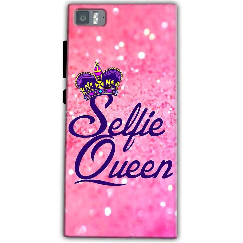 Xiaomi Mi 3 Mobile Covers Cases Selfie Queen - Lowest Price - Paybydaddy.com
