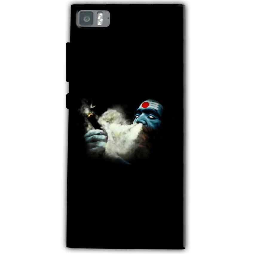 Xiaomi Mi 3 Mobile Covers Cases Shiva Aghori Smoking - Lowest Price - Paybydaddy.com