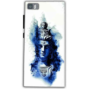 Xiaomi Mi 3 Mobile Covers Cases Shiva Blue White - Lowest Price - Paybydaddy.com