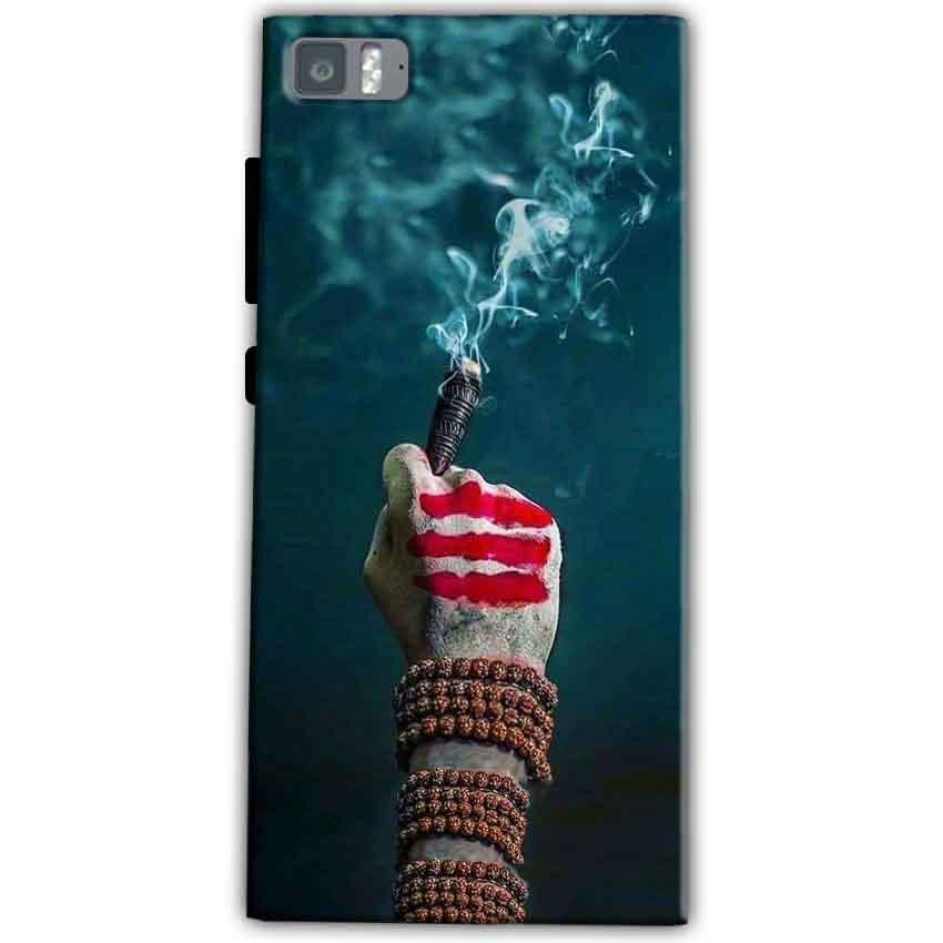 Xiaomi Mi 3 Mobile Covers Cases Shiva Hand With Clilam - Lowest Price - Paybydaddy.com