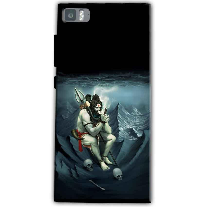 Xiaomi Mi 3 Mobile Covers Cases Shiva Smoking - Lowest Price - Paybydaddy.com