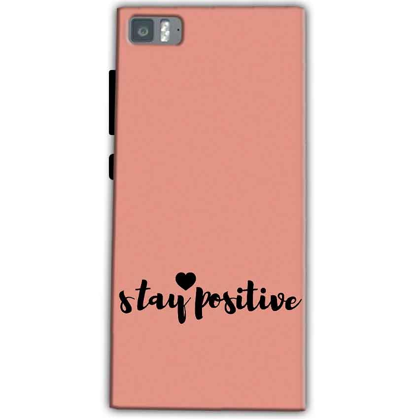 Xiaomi Mi 3 Mobile Covers Cases Stay Positive - Lowest Price - Paybydaddy.com