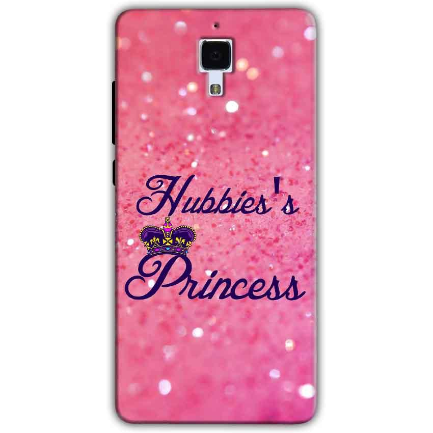 Xiaomi Mi 4 Mobile Covers Cases Hubbies Princess - Lowest Price - Paybydaddy.com
