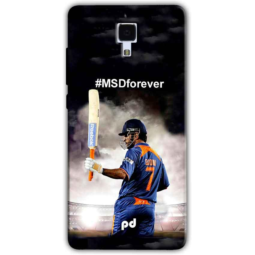 Xiaomi Mi 4 Mobile Covers Cases MS dhoni Forever - Lowest Price - Paybydaddy.com