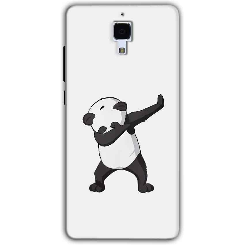 Xiaomi Mi 4 Mobile Covers Cases Panda Dab - Lowest Price - Paybydaddy.com