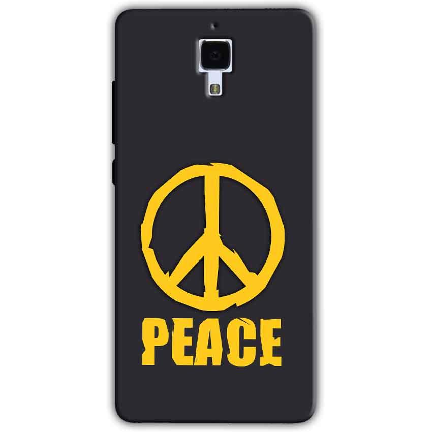 Xiaomi Mi 4 Mobile Covers Cases Peace Blue Yellow - Lowest Price - Paybydaddy.com