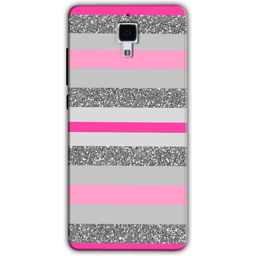 Xiaomi Mi 4 Mobile Covers Cases Pink colour pattern - Lowest Price - Paybydaddy.com