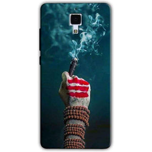 Xiaomi Mi 4 Mobile Covers Cases Shiva Hand With Clilam - Lowest Price - Paybydaddy.com